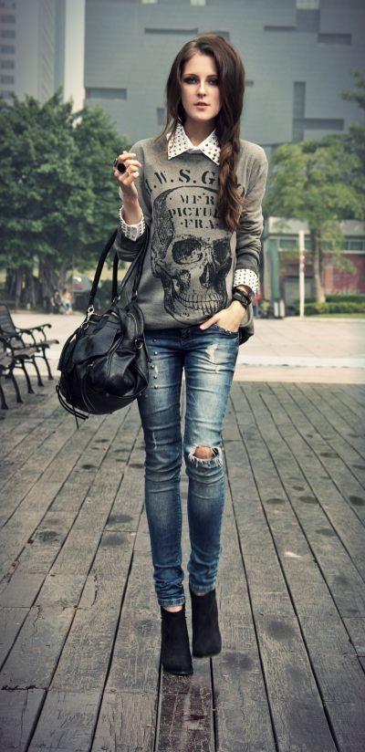 Slim-pullover