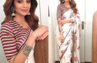 Rock Up Your Ultimate Celebration Look With Party Wear Sarees!